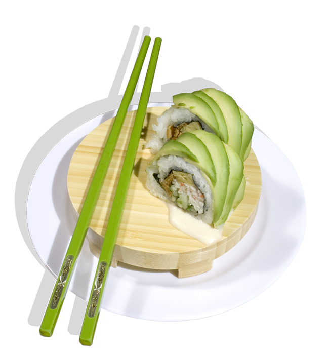 Dragon Avocado Roll